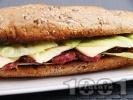 Рецепта Лесен сандвич с луканка